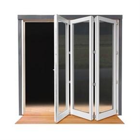 Lacuna Foldedør 6-dørs Hvit