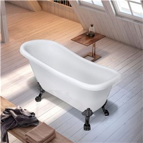 Badekar Bathlife Ideal Hvit