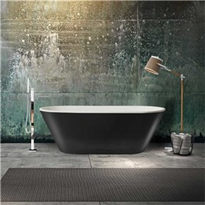 Badekar Bathlife Balans Sort