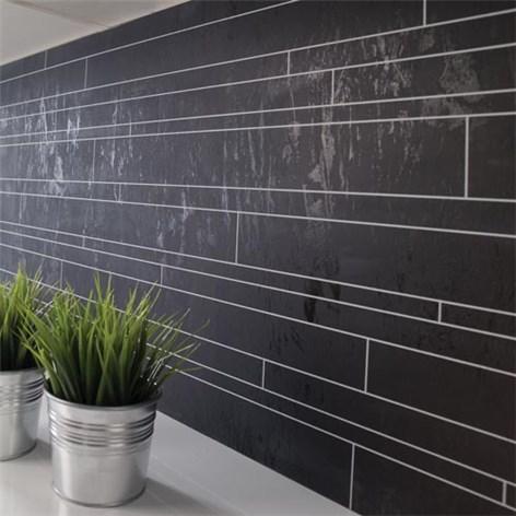 Kitchen board fibo 1066 km99 c black kj kkenplater for To do board for kitchen
