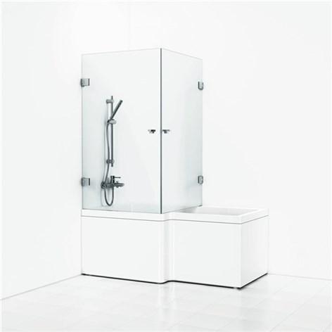 badekar med vegger Find badekarvegg svedbergs forsa hjørne klarglass dusjdører & vegg  badekar med vegger